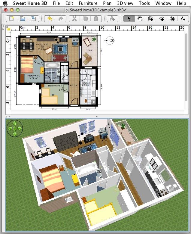 Sweet Home 3D under Java 6 / Mac OS X
